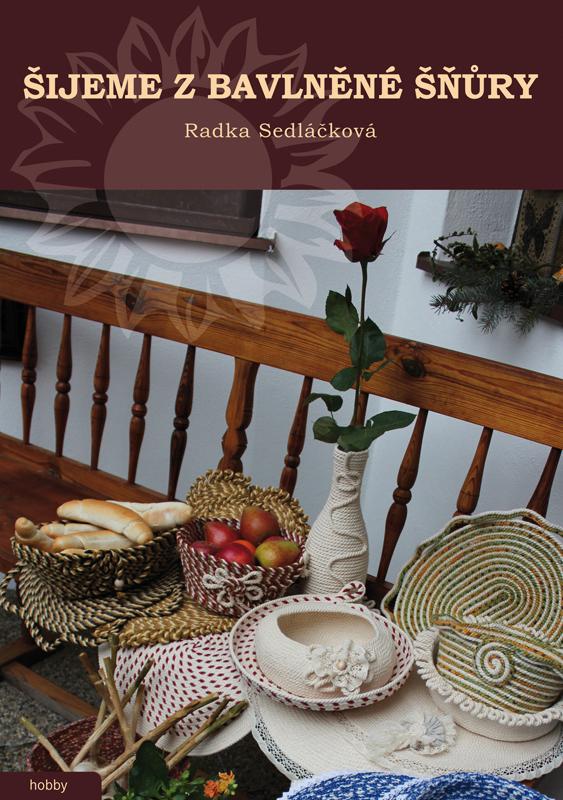 Obálka knihy Šijeme z bavlněné šnůry